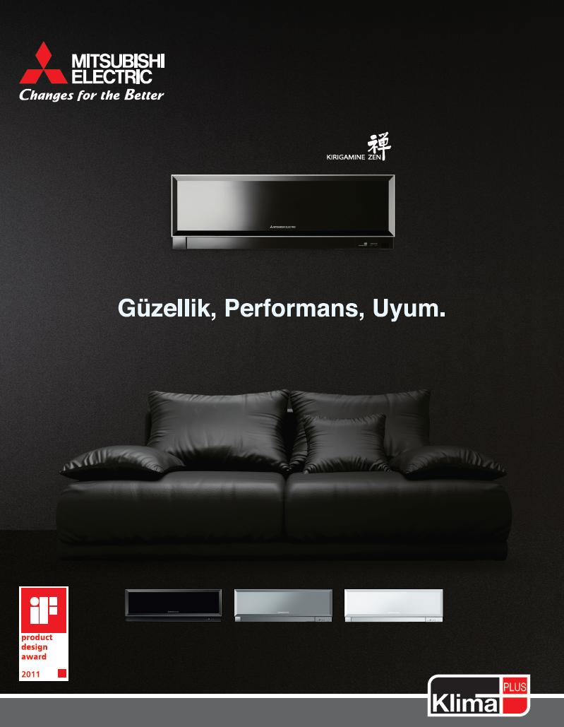 mitsubishi electric yeni kirigamine fh serisi klima. Black Bedroom Furniture Sets. Home Design Ideas